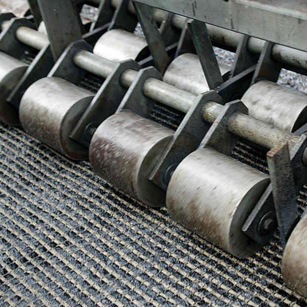Compactación con rodillos individuales