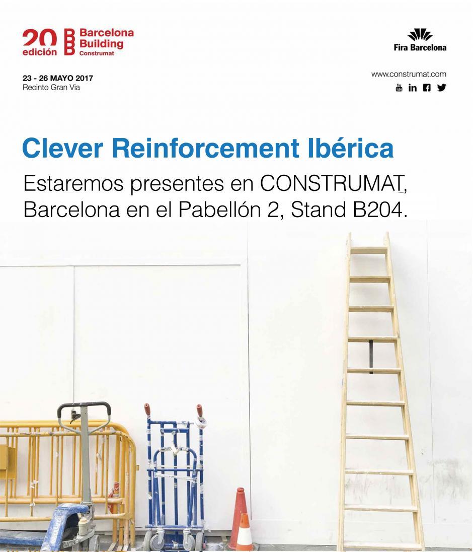 Clever Reinforcement Ibérica en la Feria de Barcelona | Construmat
