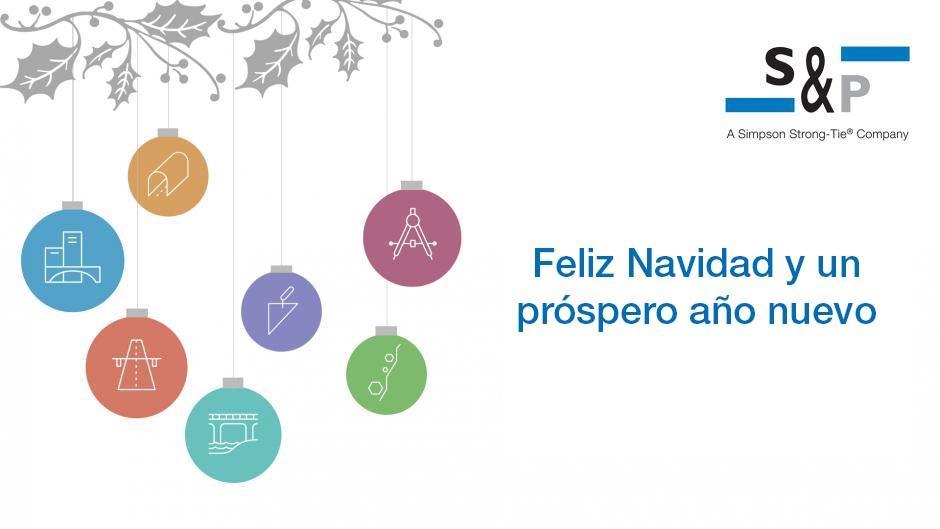 Feliz Navidad y un próspero año nuevo