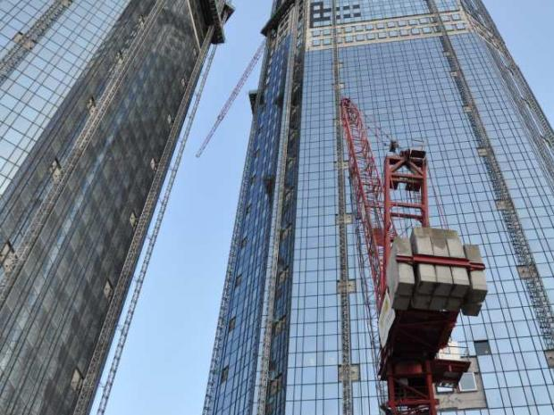 Los torres en construcción