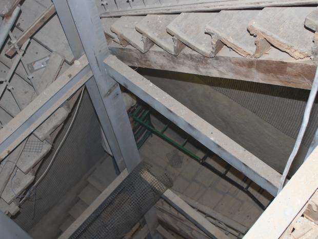Aplicación de S&P ARMO-mesh® en fosa de escalera y ascensor